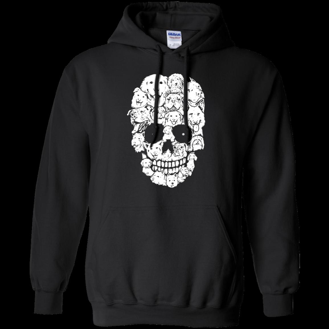 Skull Face Dogs Shirt