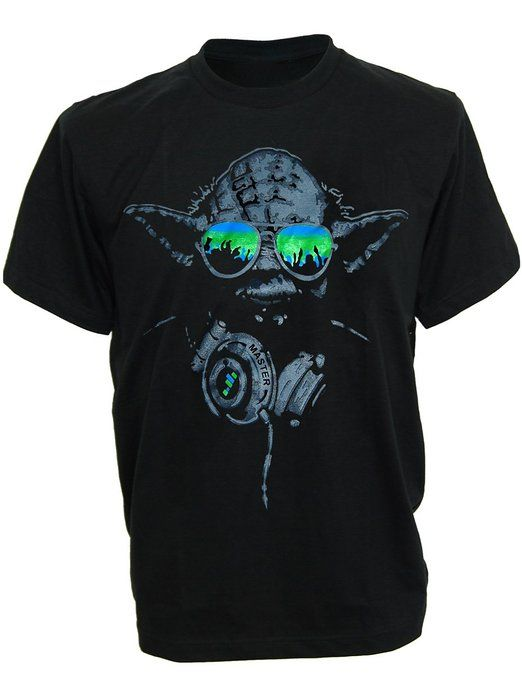 Sodas Dj Yoda Turntables Club S Headphones S Music Green Shades Shirts