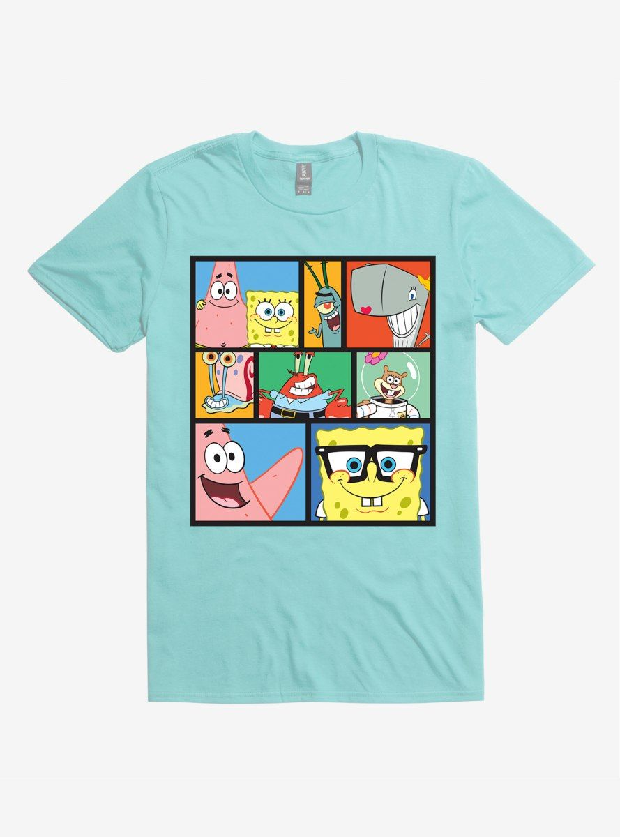 Spongebob Collage Shirts