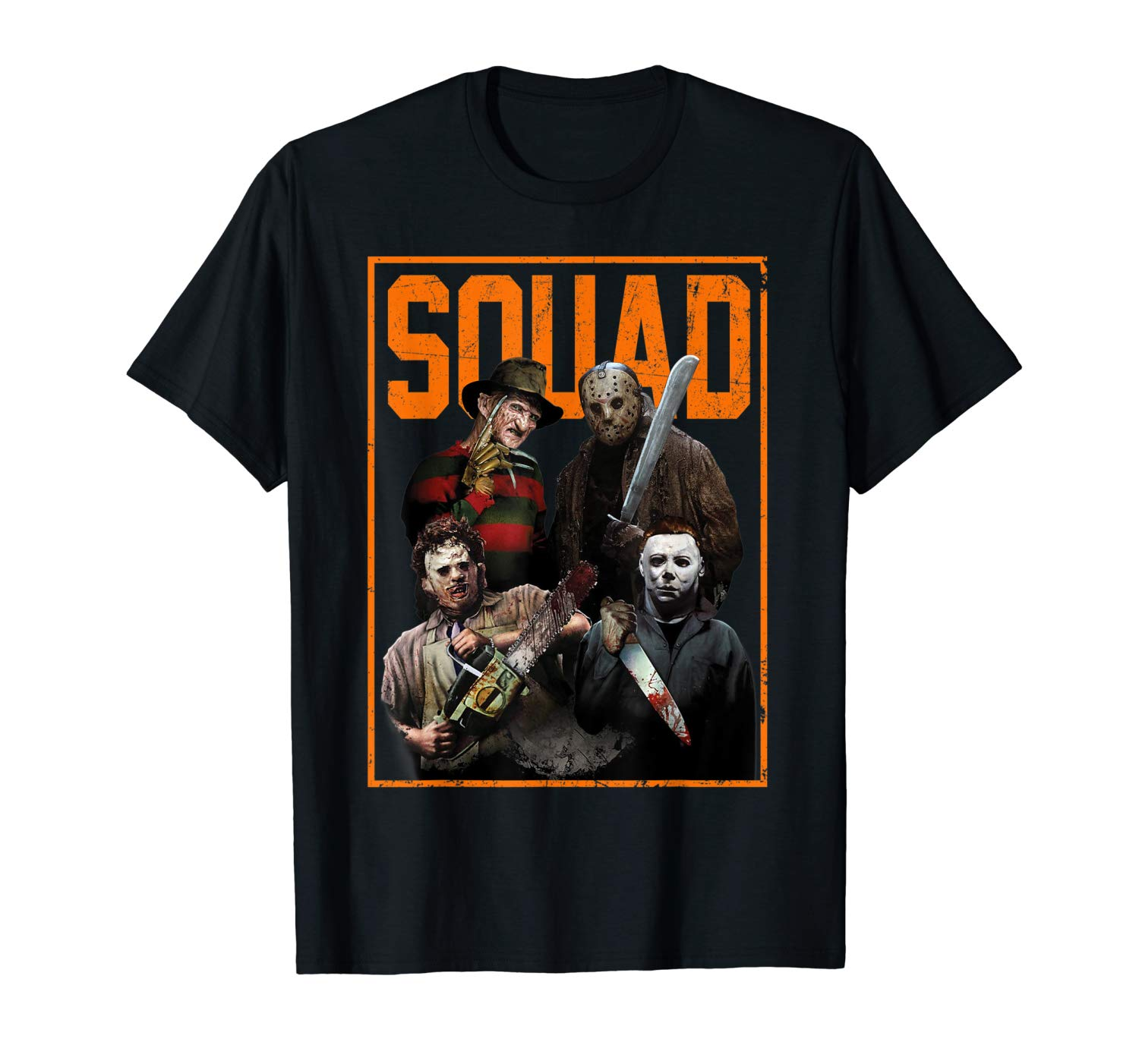 Squad Jason And Friends T Shirt Halloween Gift