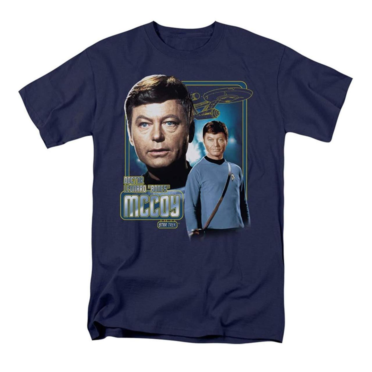 Star Trek T Shirt Doctor Mccoy Original Series
