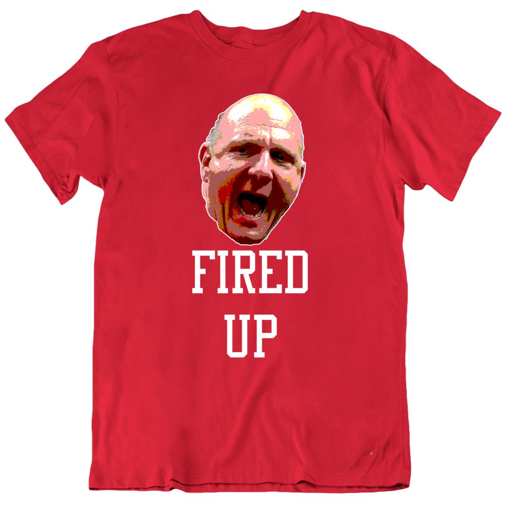 Steve Ballmer Fired Up La Basketball Fan V2 Shirts
