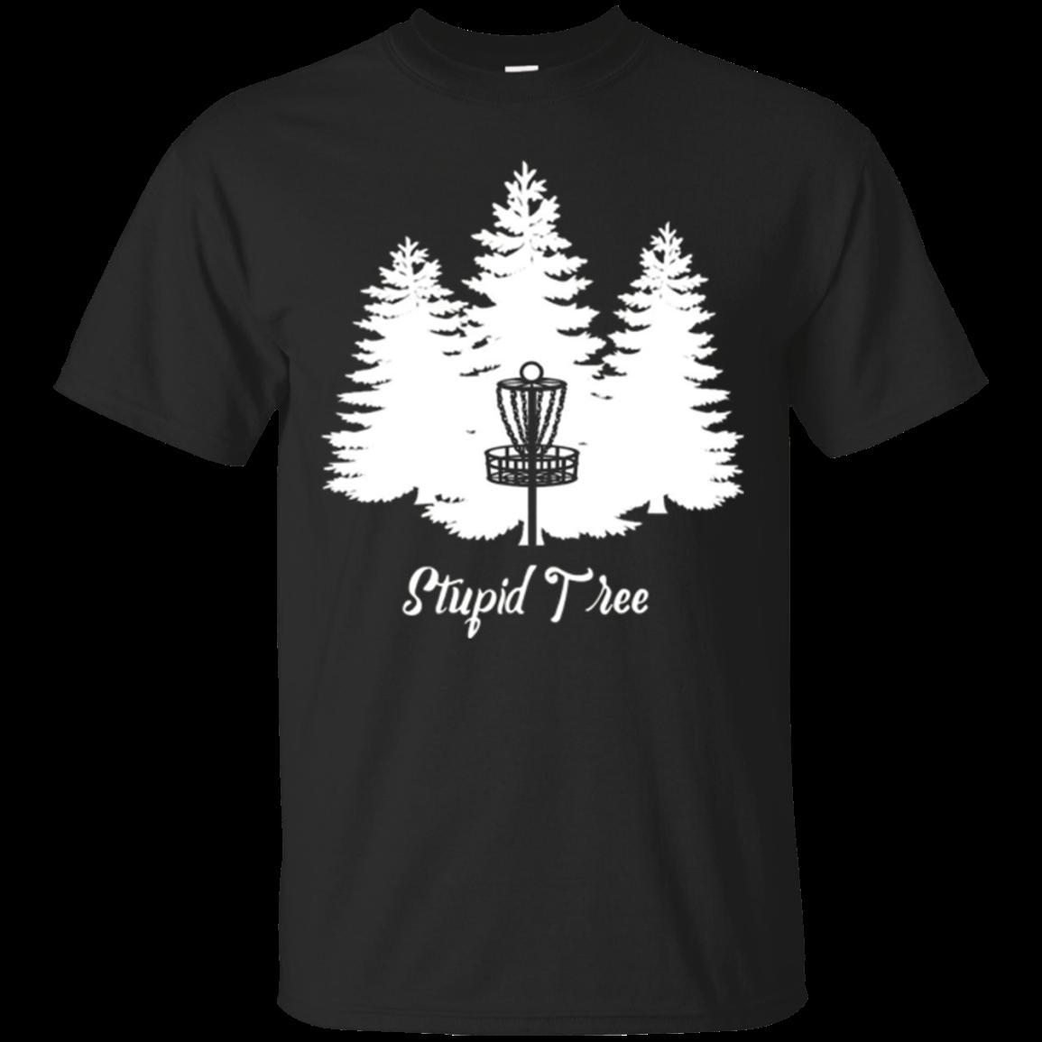 Stupid Tree Disc Golf T Shirt