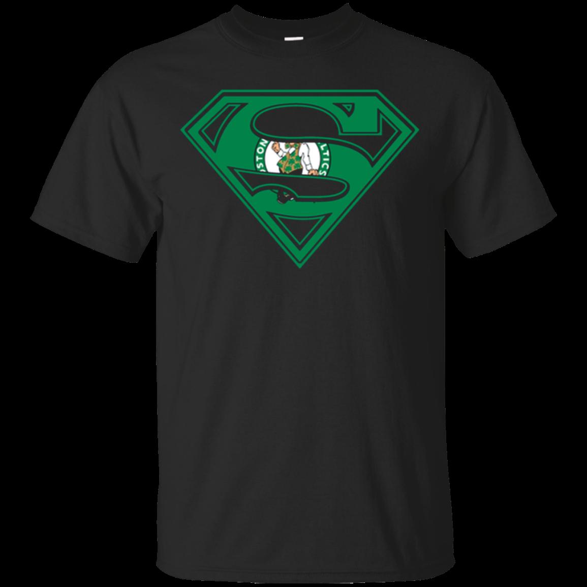 Superman Boston Celtics T Shirt Shirt