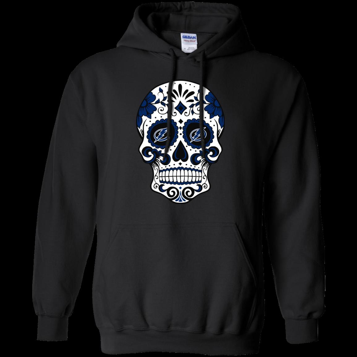 Tampa Bay Lightning Sugar Skull T Shirt