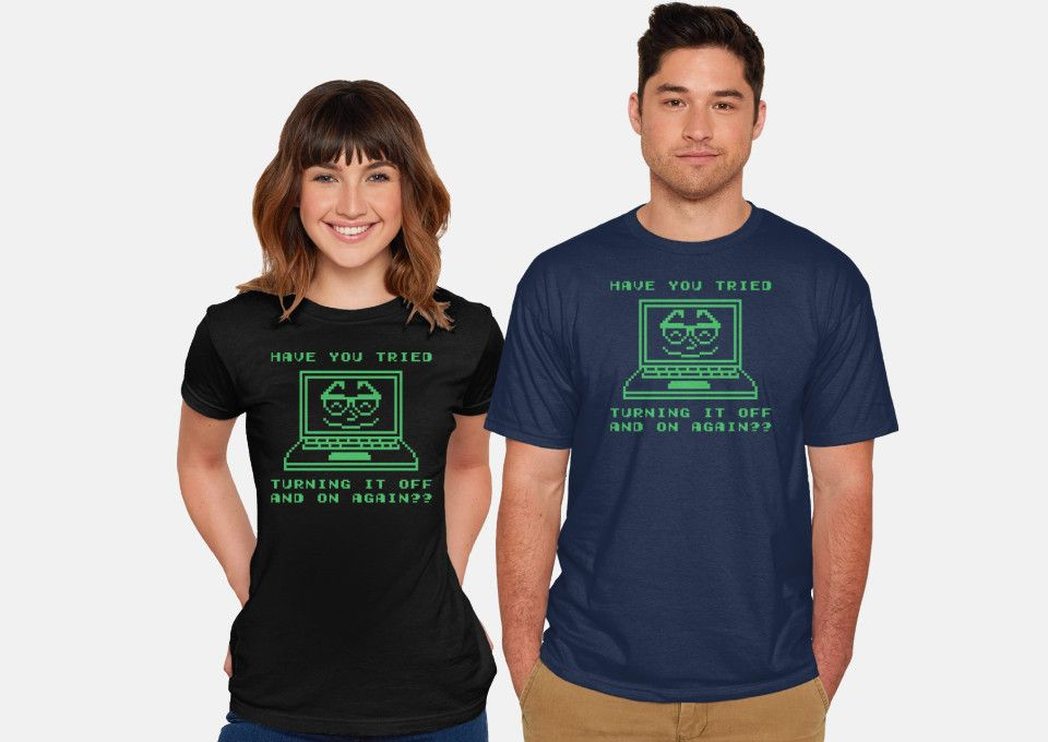 Tech Support It Crowd Is 12 Today At Fury Shirts