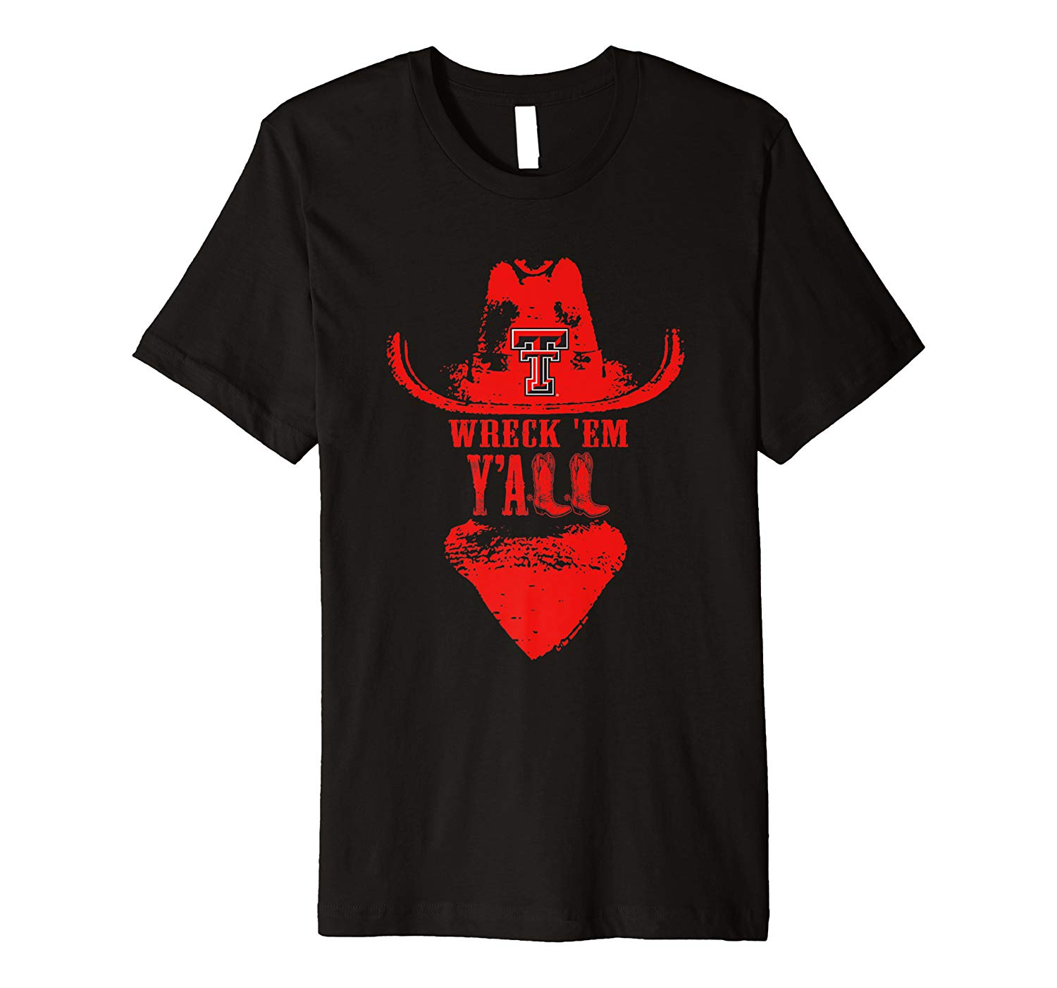 Texas Tech Red Raiders Y All Boots Apparel Shirts