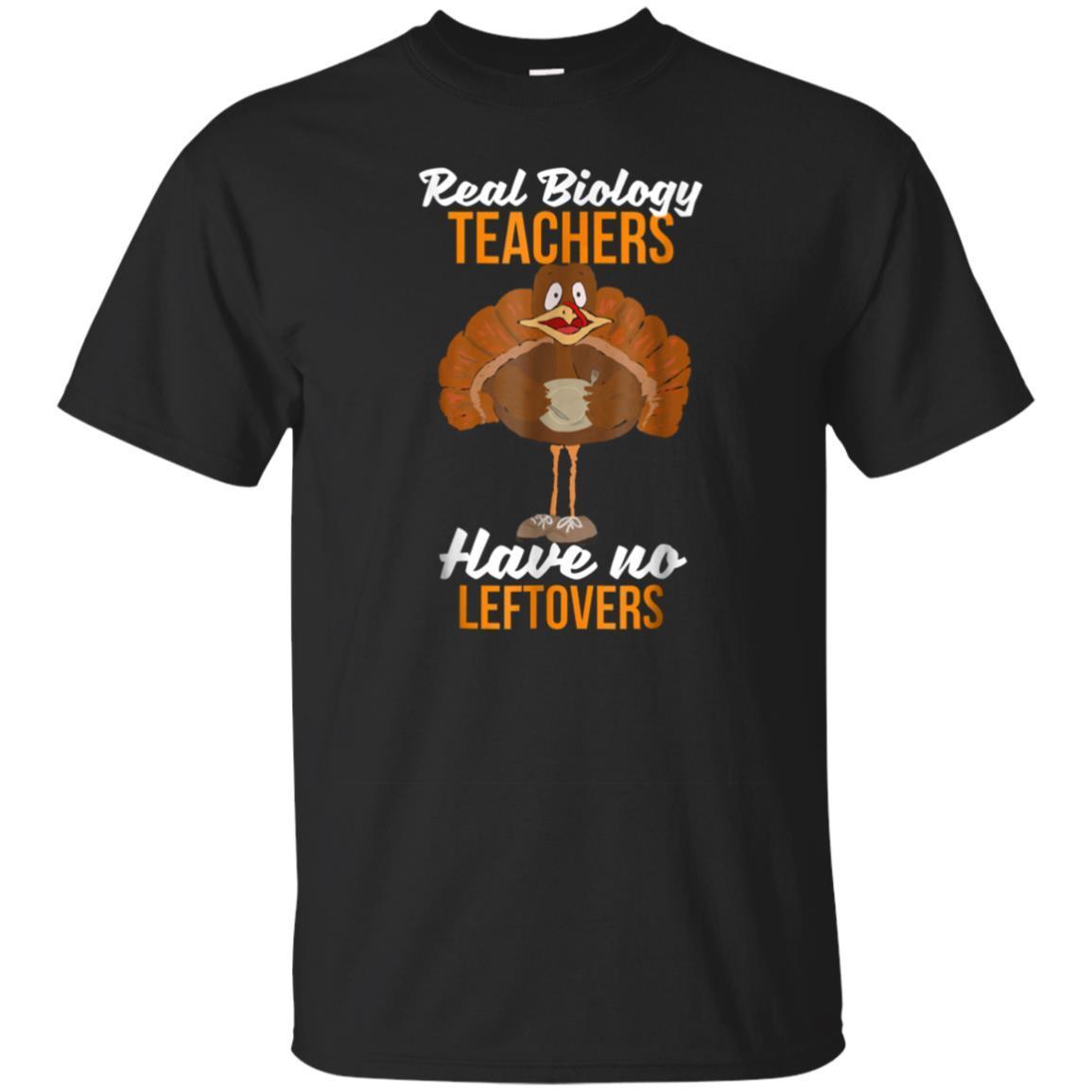 Thanksgiving Biology Tea Shirt No Leftovers Tshirt