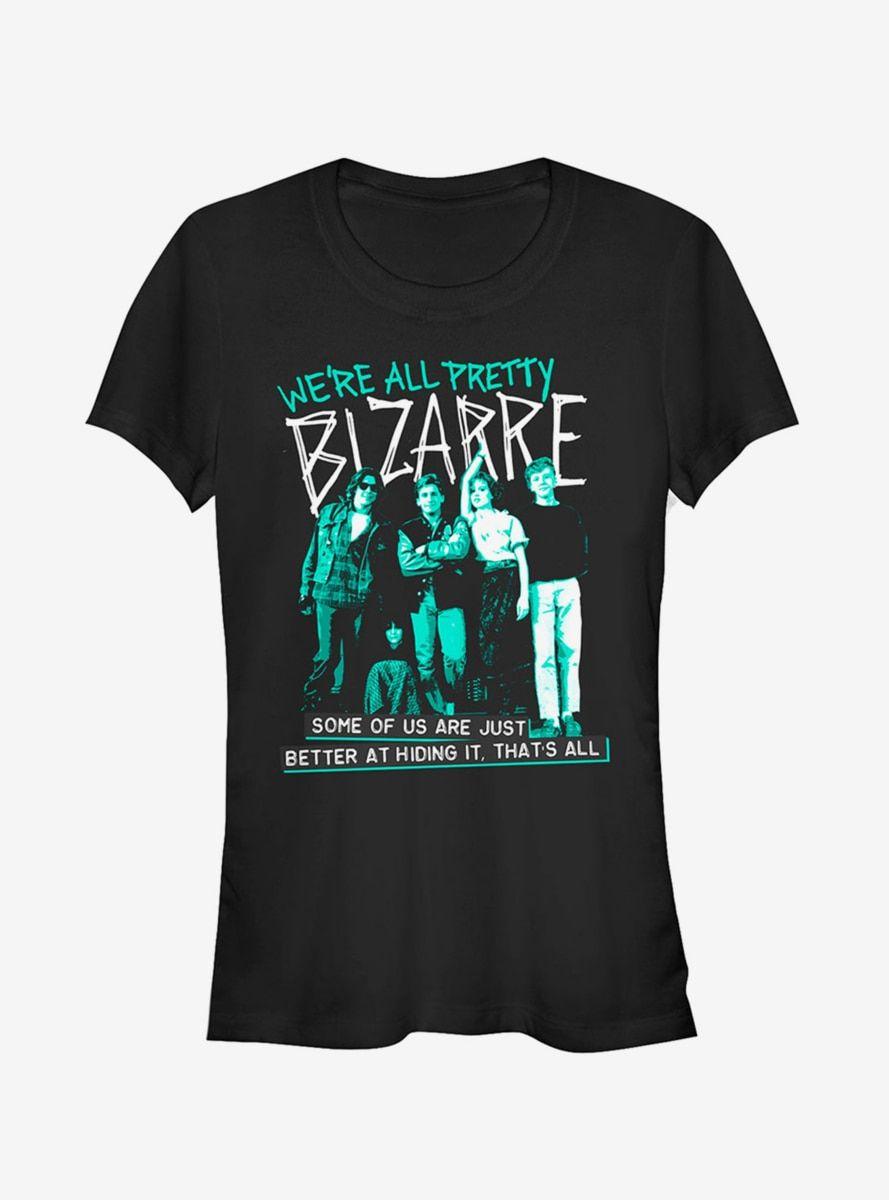 The Breakfast Club We Re All Bizarre Girls Shirts