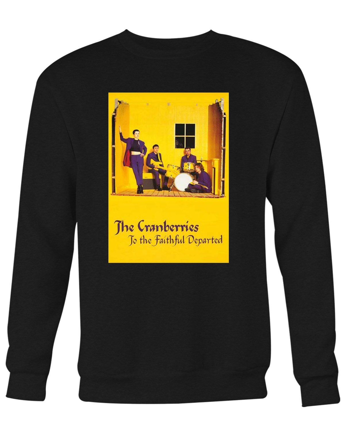 The Cranberries Faithful Departed Sweater Shirts