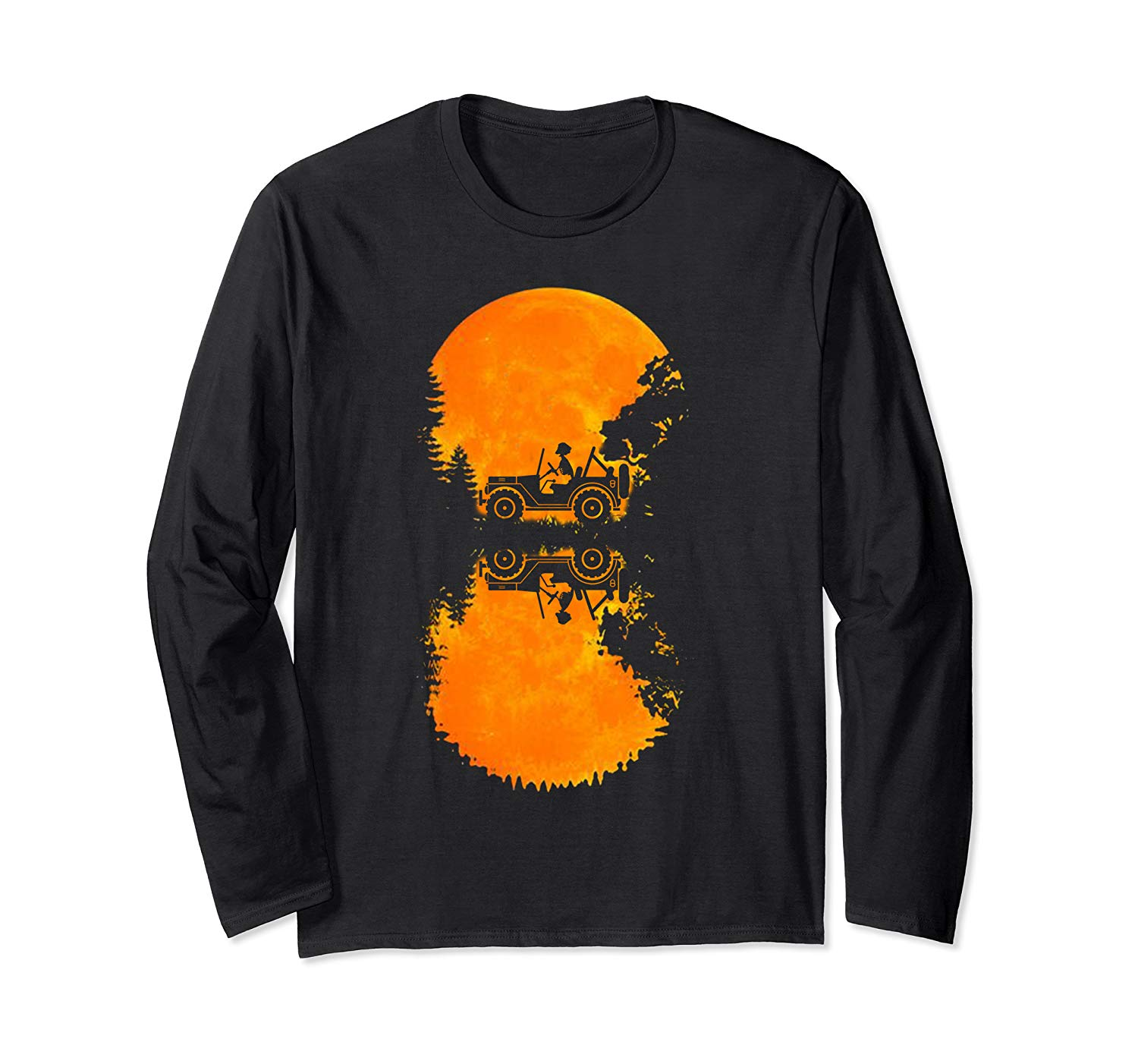 The Jeeps Driver In The Moon Halloween Shirt T Shirt