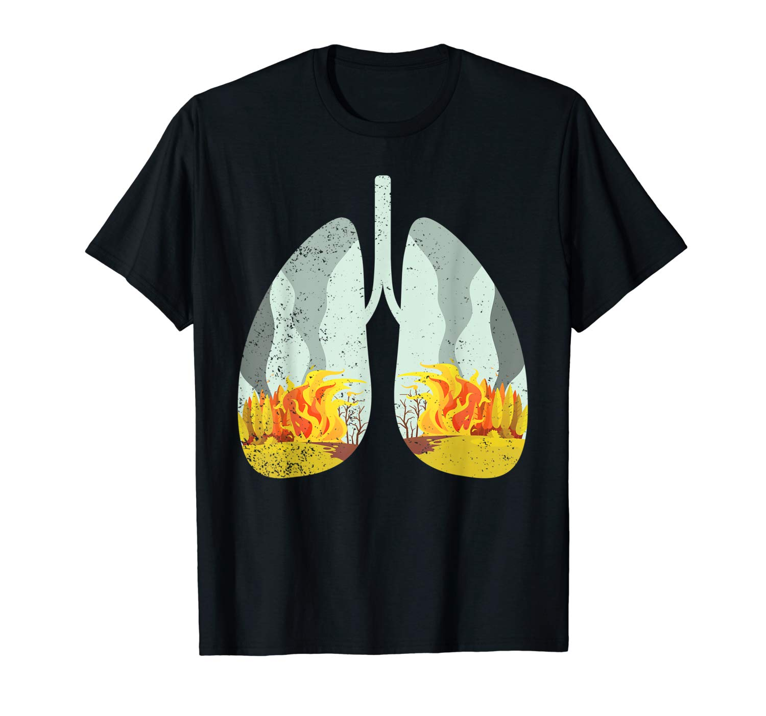 The Lungs Of Earth Are On Fire Pray For Amazonia T Shirt