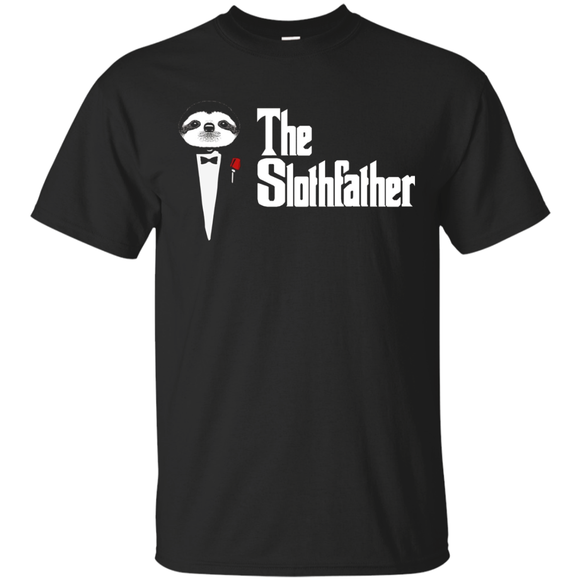 The Sloth Father T Shirt