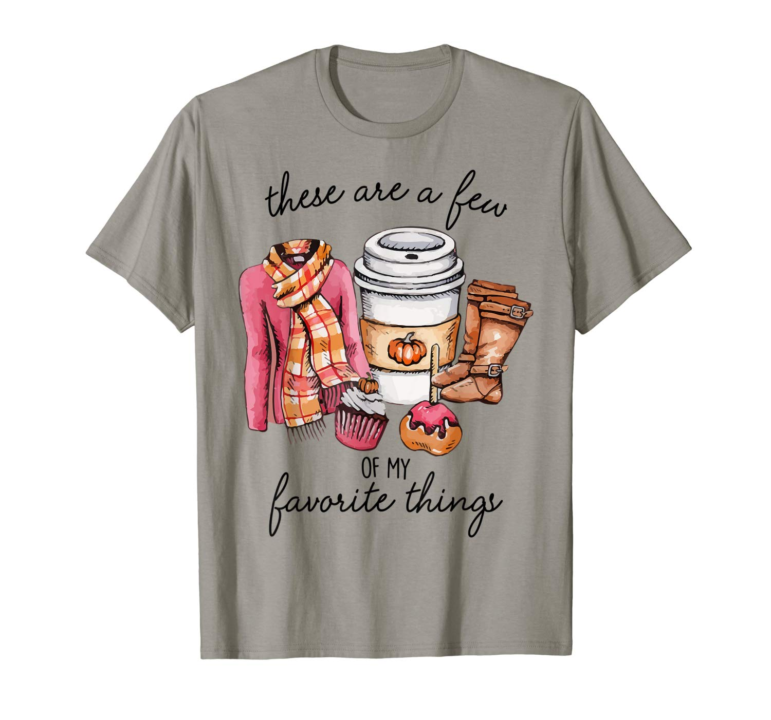 These Are Few Of My Favorite Things Halloween Gift Christmas T Shirt