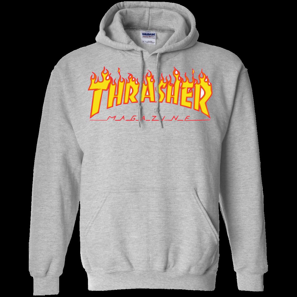 Thrasher Magazine Shirt G185 Pullover 8 Oz
