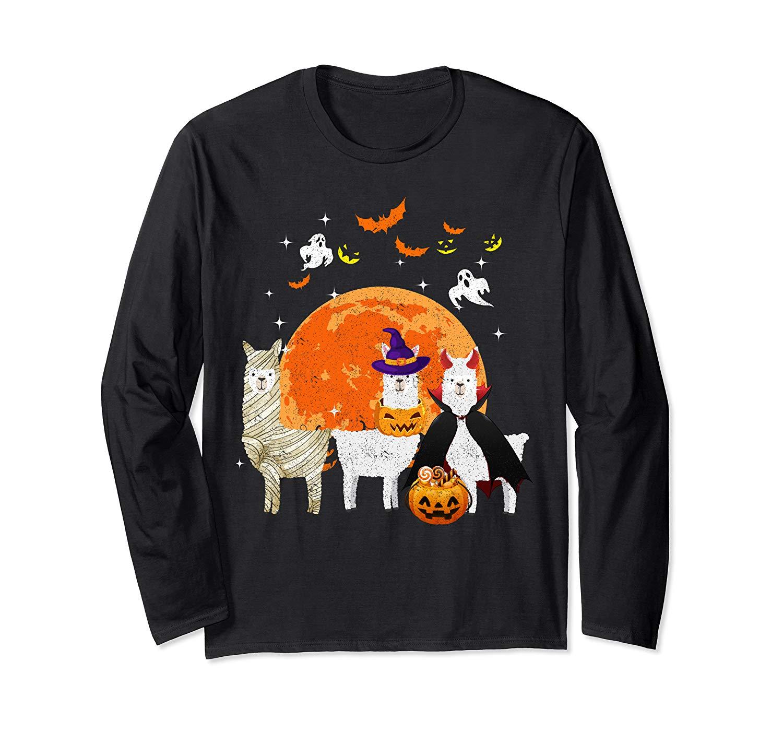 Three S Halloween T Shirt Mummy Pumpkin Moon T Shirt