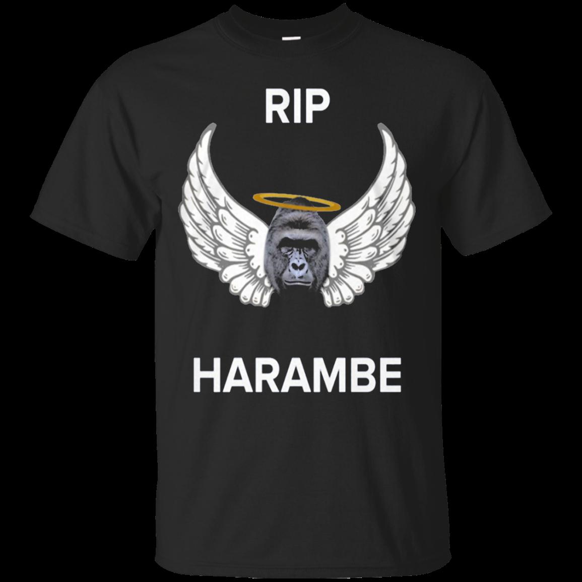 Top Selling Amazing Rip Harambe Shirt Harambeauto