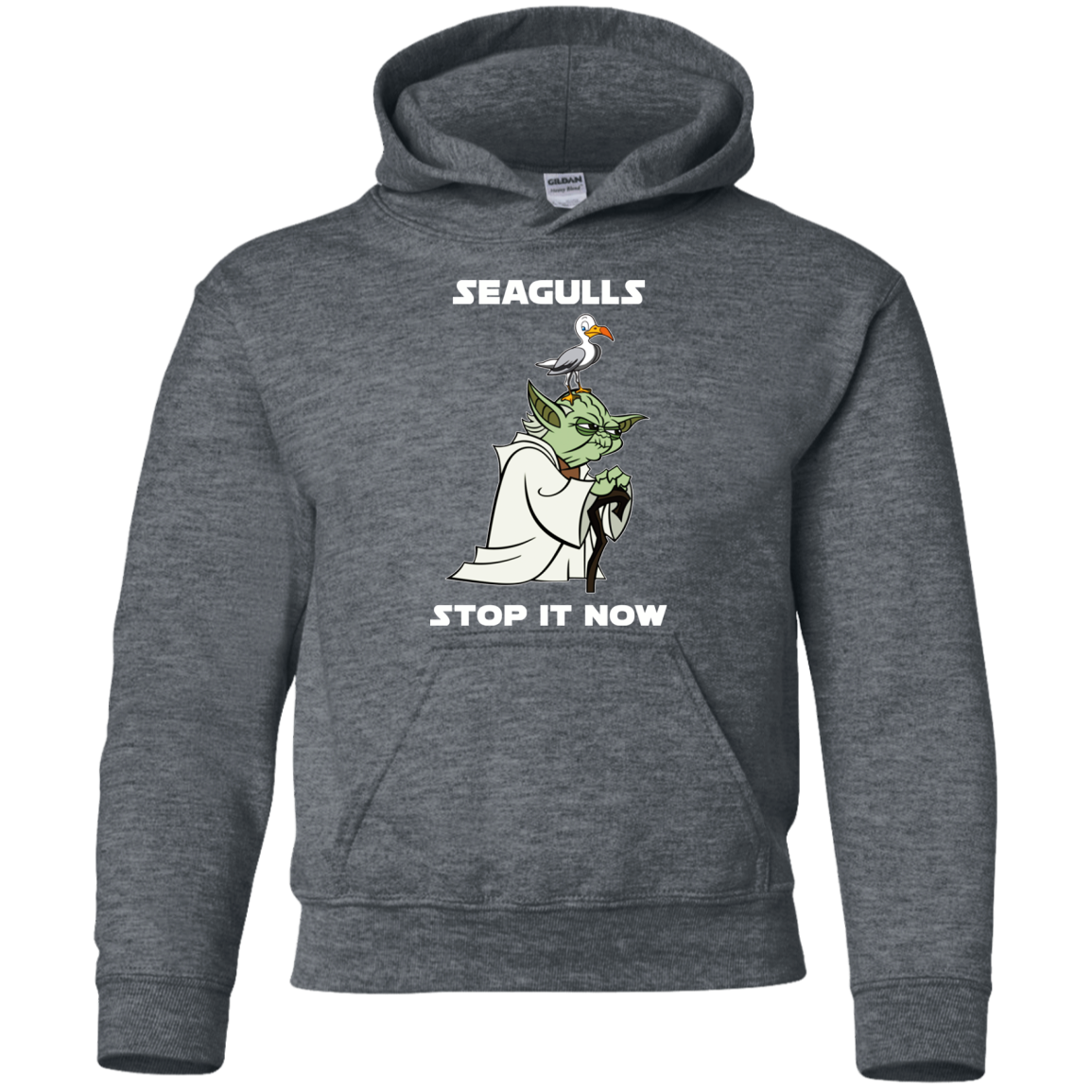 Top Selling Yoda Seagull Stop It Now Shirt G185b Pullover