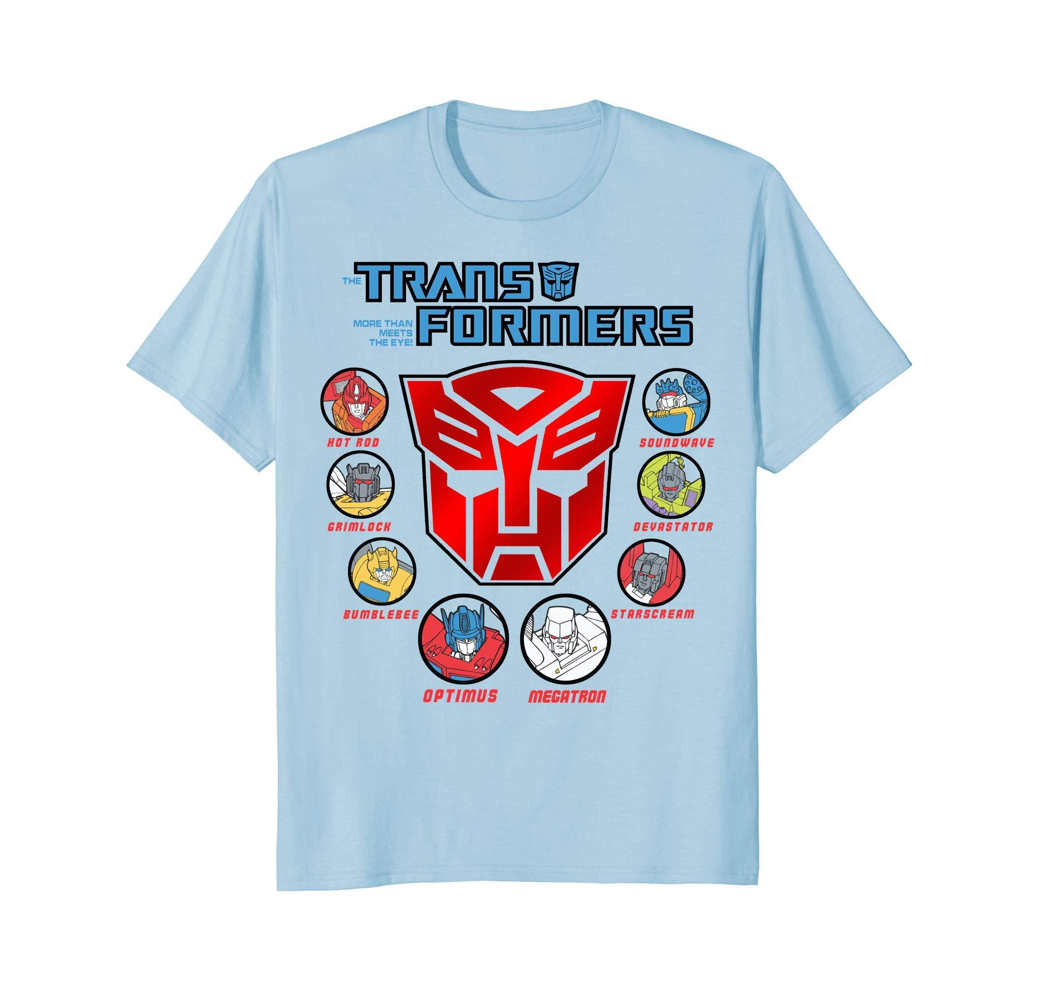 Transformer More Than Meets The Eye T Shirt