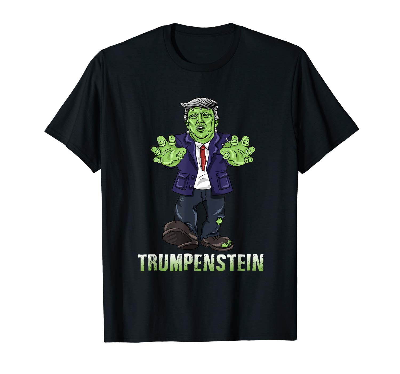 Trumpenstein Halloween Zombie Trump T Shirt