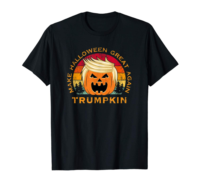 Trumpkin Make Halloween Great Again Vintage T Shirt