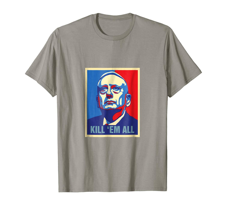 Us Secretary Of Defense James Mattis T Shirt Military
