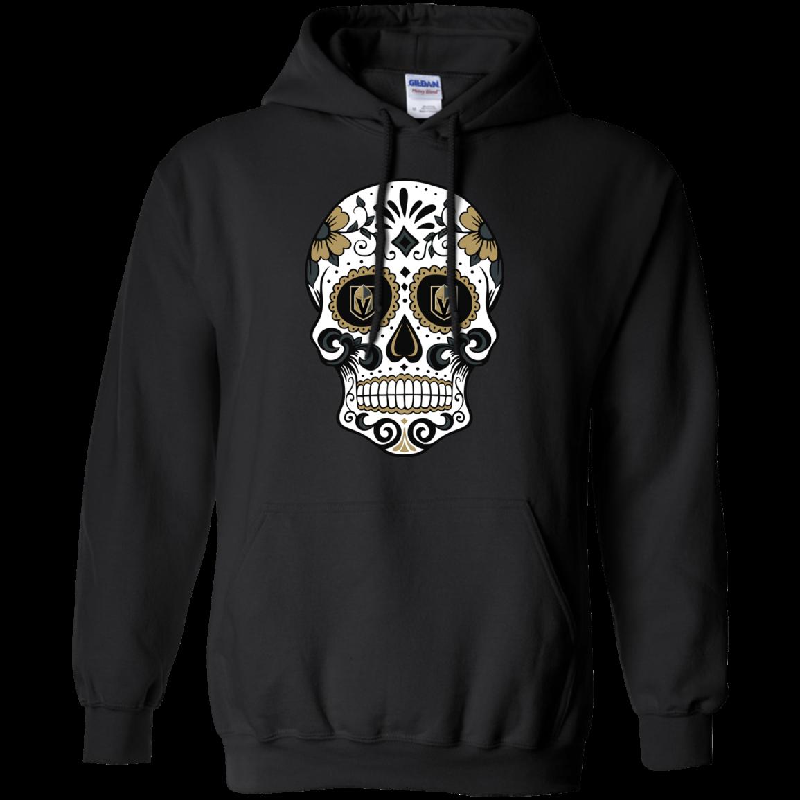 Vegas Golden Knights Sugar Skull T Shirt