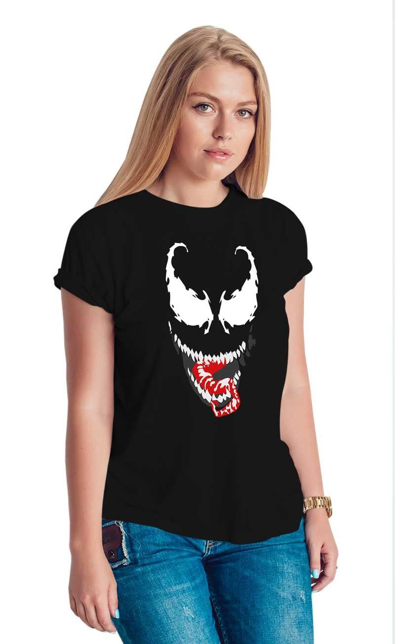 Venom Womens Black Shirts