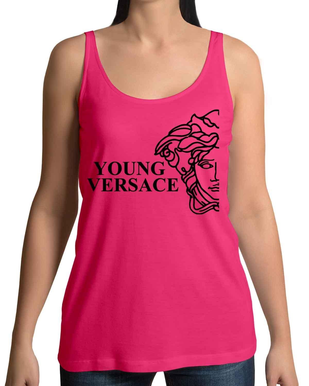 Versace Logo Tank Top Shirts