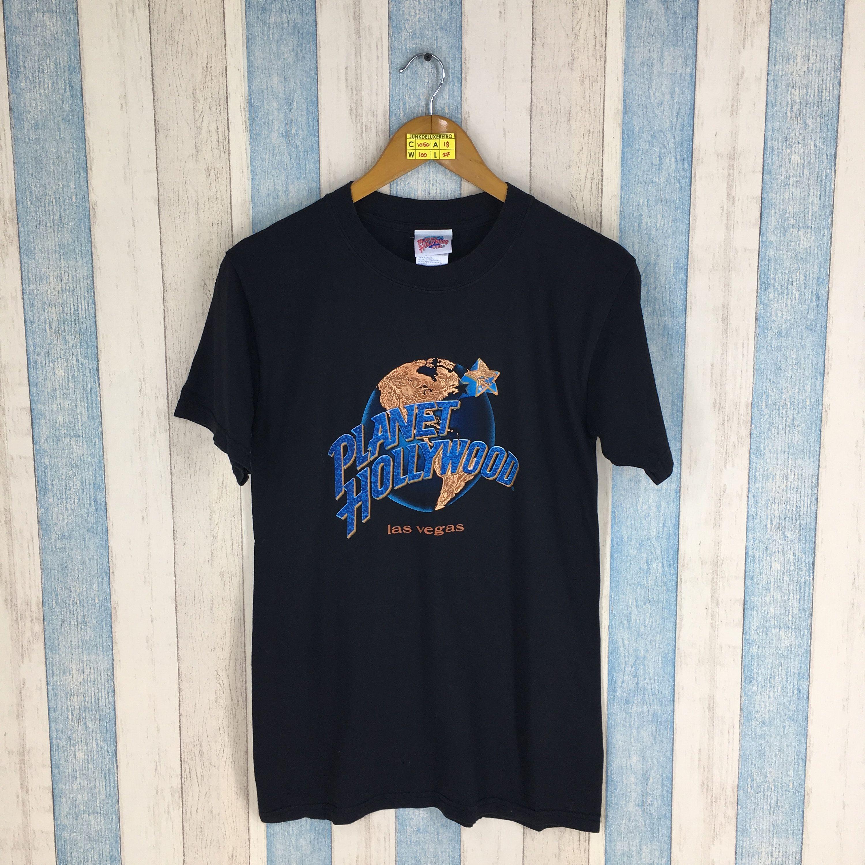 Vintage 90 S Planet Hollywood Black Shirts