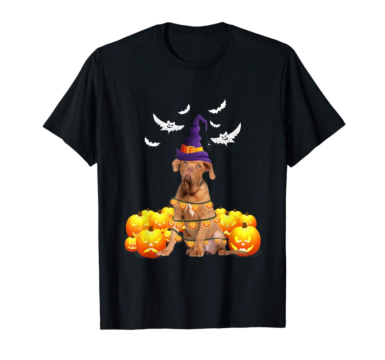 Vizsla Dog Pumpkin Halloween T Shirt