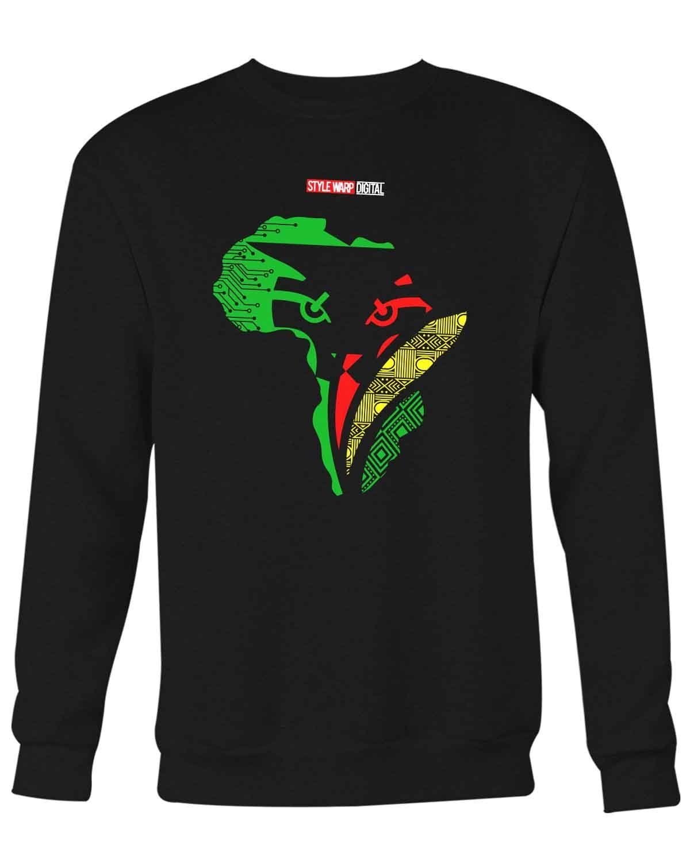 Wakandan Embodit Sweater Shirts