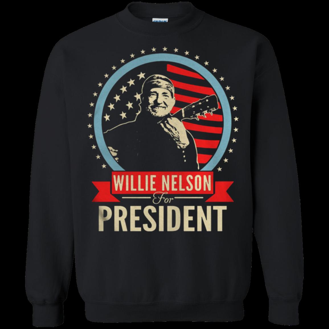 Willie Nelson For President Shirt