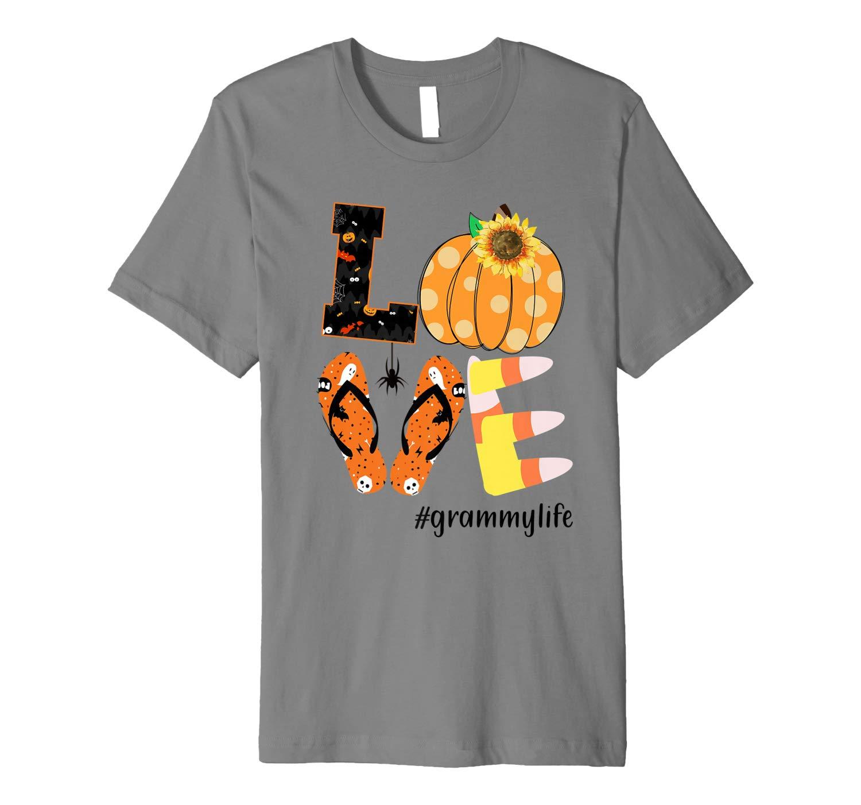 Mom Halloween Love Grammylife Grammy Life Premium T Shirt