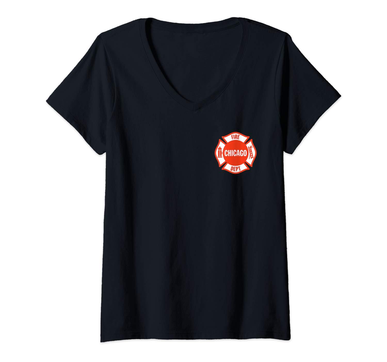 Chicago Fire Departt T Shirt
