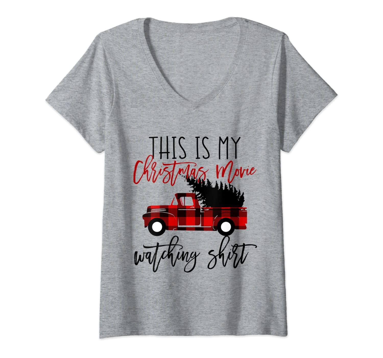 Cute Funny Xmas Gift For Girls Mom Christmas Movie T Shirt