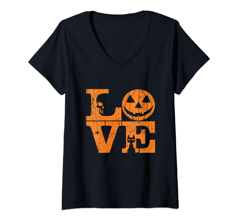 Girls True Love Halloween Night Creepy Cute Fun Gift T Shirt