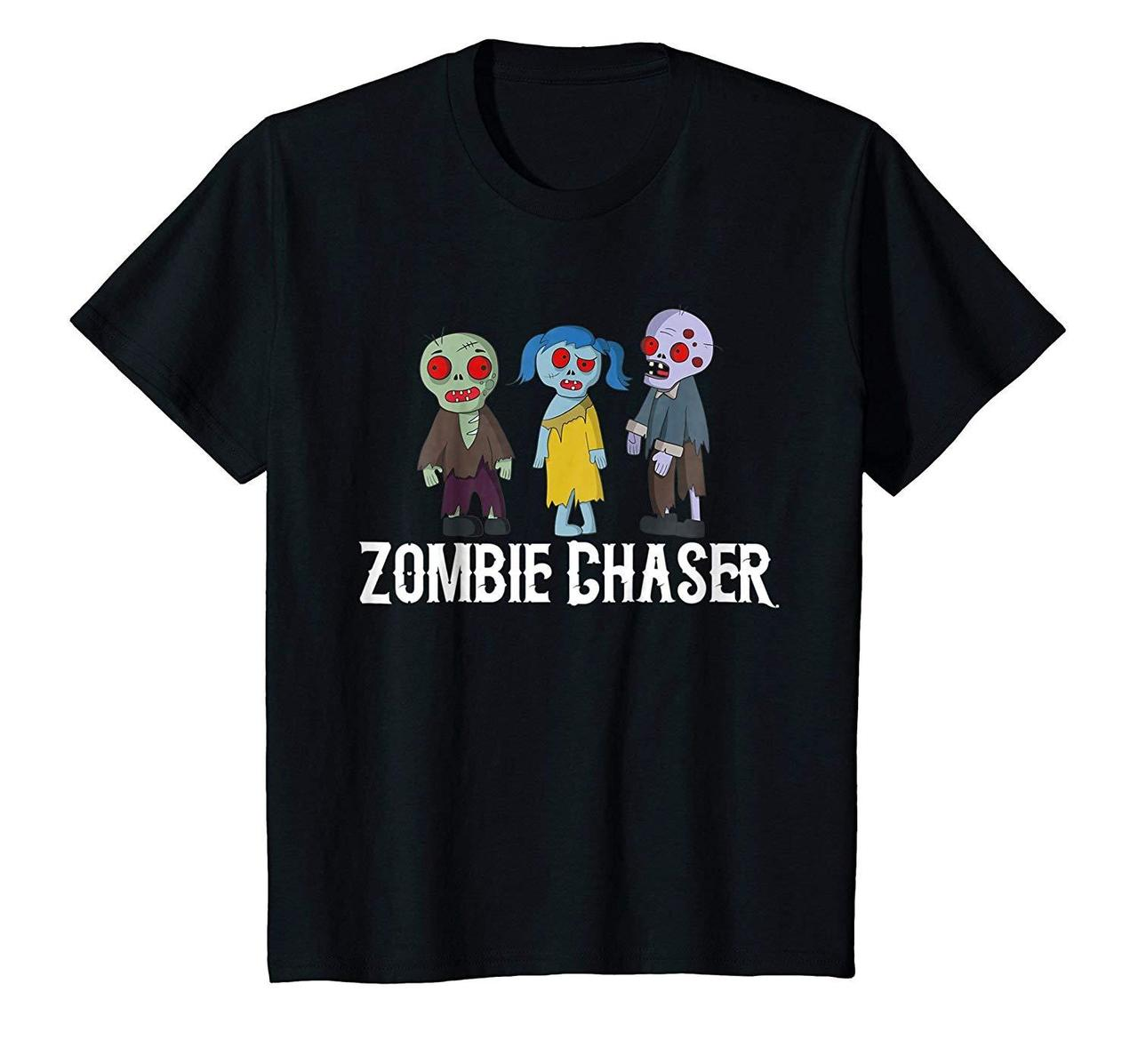 Zombie Chaser T Shirt Halloween Zombies