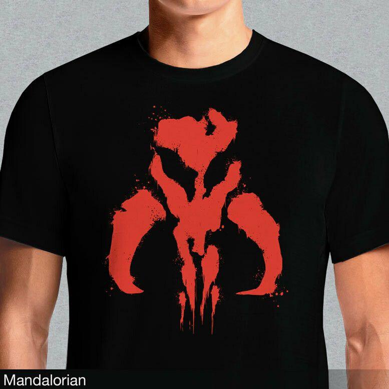 Boba Fett Symbol Mandalorian Mythosaur Skull 16 T Shirt