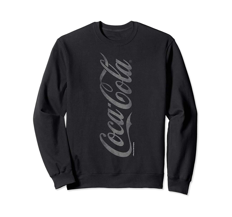 Coca Cola Vintage Vertical Logo Graphic Shirts