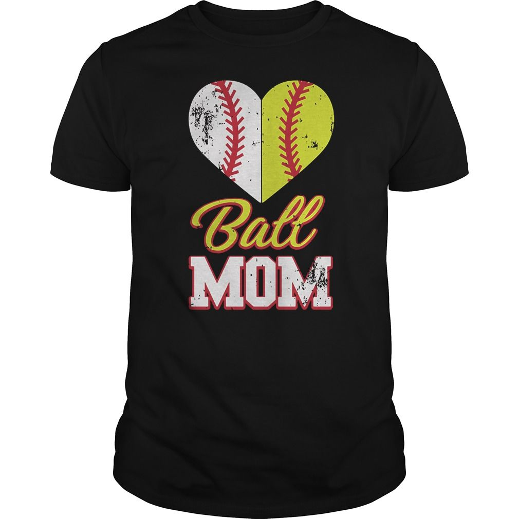 Softball Mom T Shirt Ball Mom Softball T Shirt