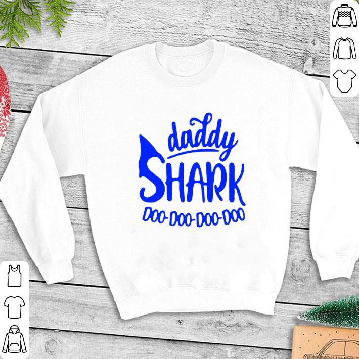Father Day Daddy Shark Doo Doo Doo Doo Shirt