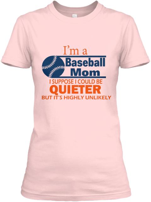 I'm A Baseball Mom T-shirt