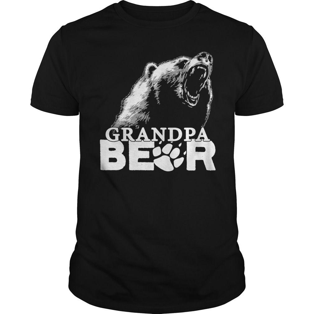 Grandpa Bear Shirt T Shirt T Shirt