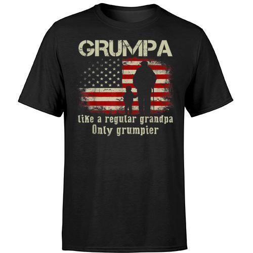 Grumpa Like A Regular Grandpa Only Grumpier T Gift T Shirt Hoodie Sweater