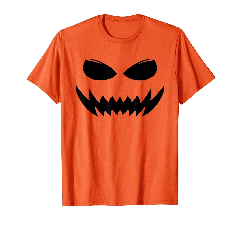Scary Pumpkin Jack O Lantern Face Evil S T Shirt
